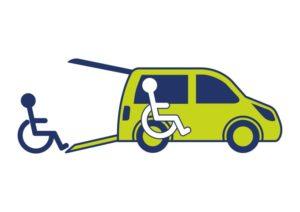 5 persoons rolstoelauto + 1 rolstoel tegelijkertijd vervoeren