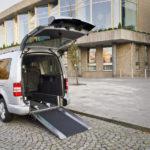 VW Caddy aanpassing naar rolwagen 85cm breed