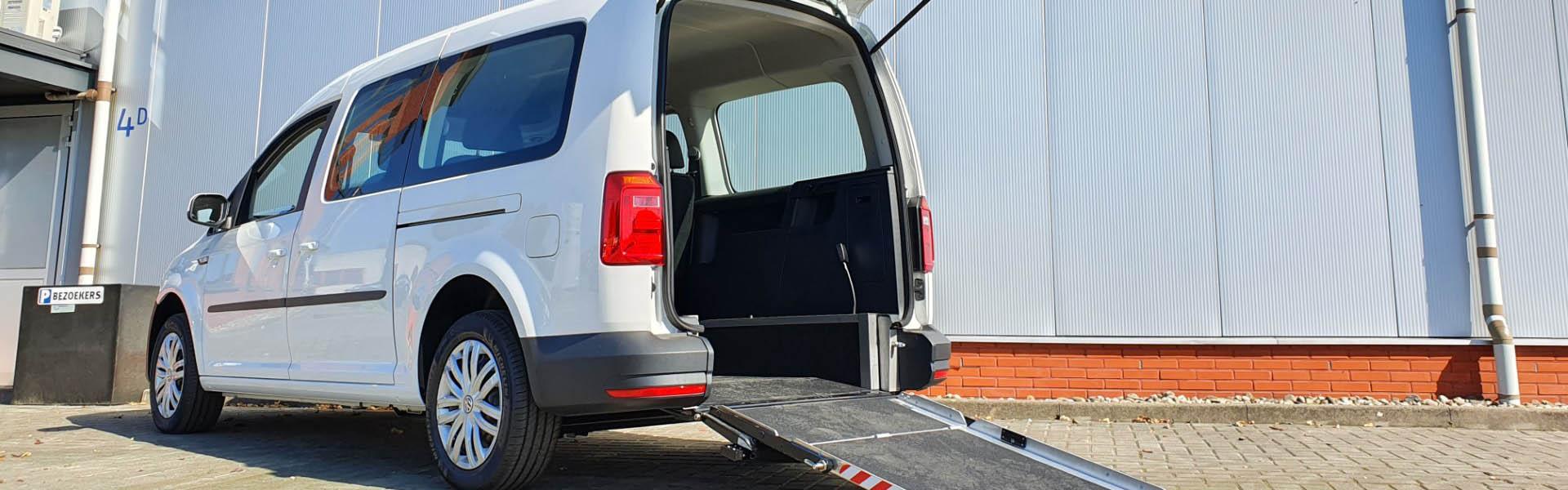 UIT VOORRAAD LEVERBAAR Caddy Maxi Rolstoel vervoer